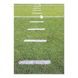 Yardlines on Football Field Card