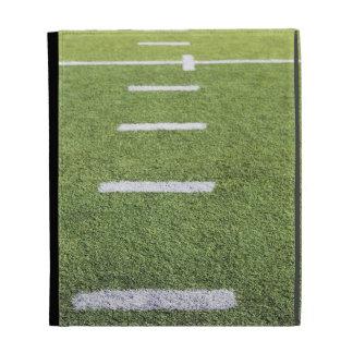 Yardlines on Football Field iPad Case