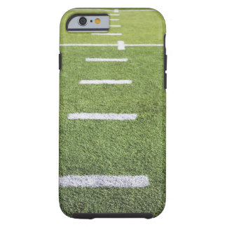 Yardlines on Football Field Tough iPhone 6 Case