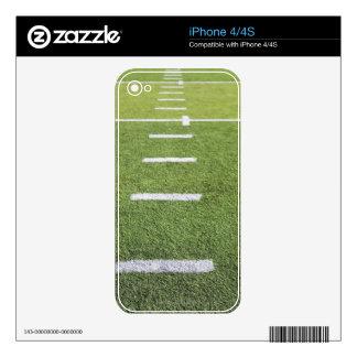 Yardlines on Football Field iPhone 4 Skins