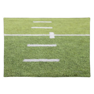 Yardlines on Football Field Placemats
