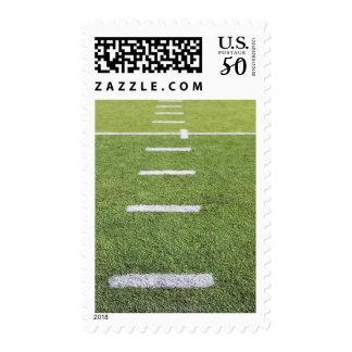 Yardlines on Football Field Postage