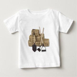 YardToolsLeaningStacksHay112611 Tee Shirts