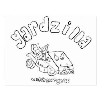Yardzilla First Drawing Postcard