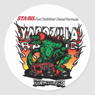 Yardzilla Round Sticker