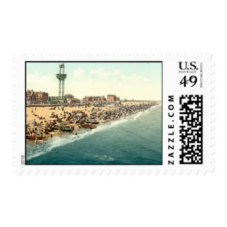 Yarmouth Beach and Revolving Tower, Norfolk, Engla Stamps