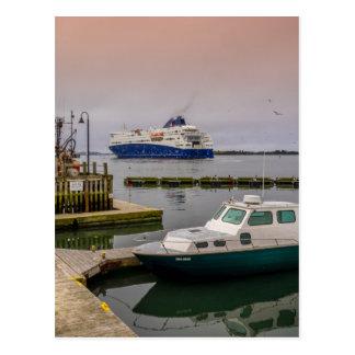 Yarmouth Ferry Postcard