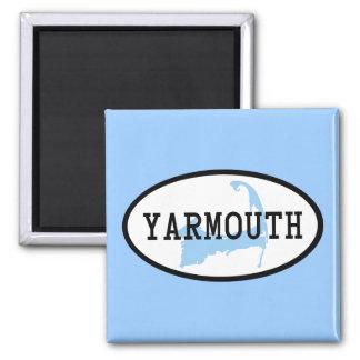 yarmouth imán cuadrado