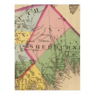 Yarmouth, Shelburne counties, NS Postcard