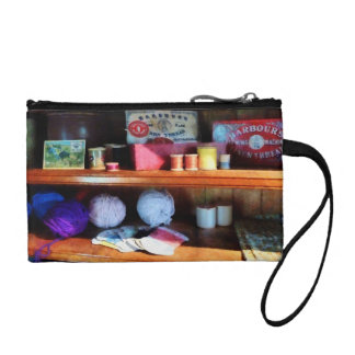 Yarn and Thread in General Store Coin Wallets