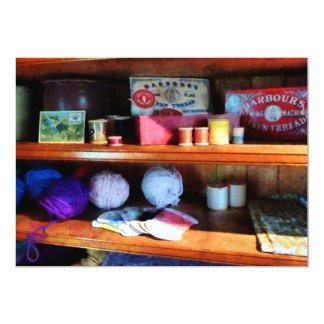 Yarn and Thread in General Store Card