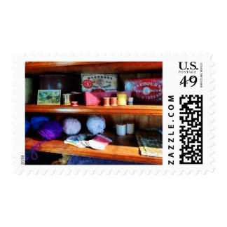 Yarn and Thread in General Store Postage