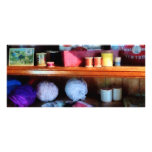 Yarn And Thread in General Store Rack Cards