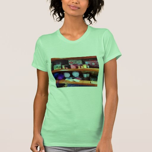 Yarn and Thread in General Store Tee Shirts
