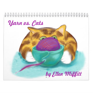 Yarn Balls and Kittens Calendar