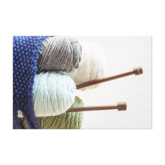 Yarn Basket 1 Canvas Print