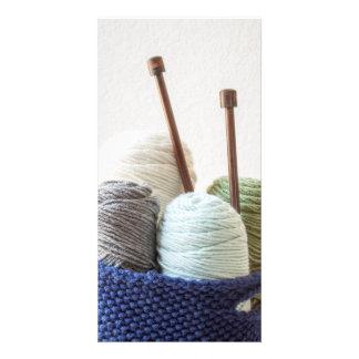 Yarn Basket 1 Card
