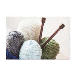 Yarn Basket 2 Canvas Print