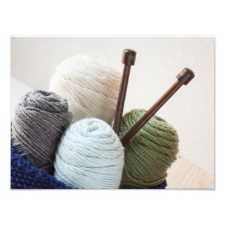 Yarn Basket 2 Photo Print