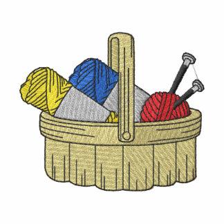 Yarn Basket Embroidered Hoodie