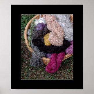 Yarn Basket Poster