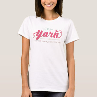 Yarn Because Crack is Bad for You Shirt