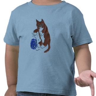 Yarn Bounce, Wheeeeee, says Kitten T-shirt
