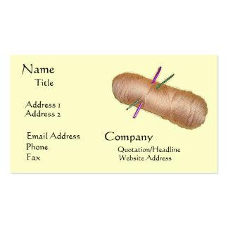 Yarn Crafts Business Card