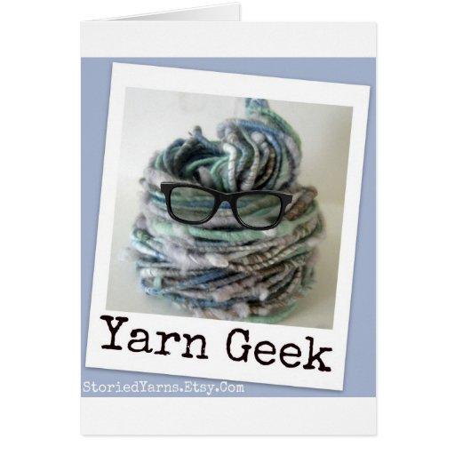 Yarn Geek Card