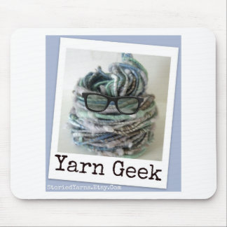 Yarn Geek Mouse Pad