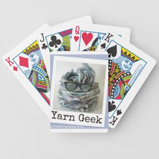 Yarn Geek Bicycle Poker Cards