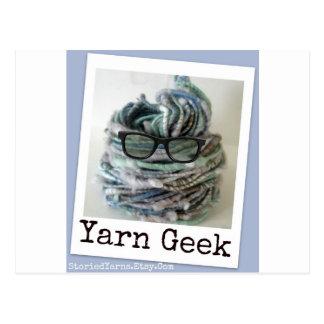 Yarn Geek Post Card