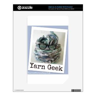 Yarn Geek NOOK Color Skins