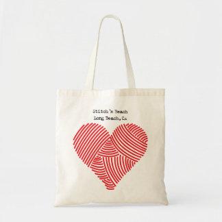 Yarn Heart Stitch N Beach Long Beach Canvas Bags