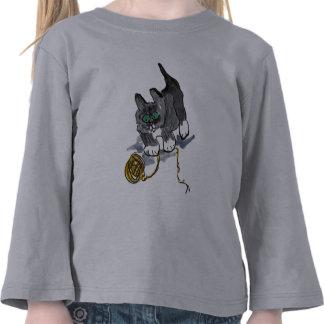 Yarn Hesitation by Nervous Kitten Shirts