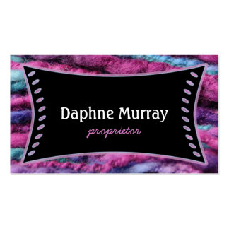 Yarn Knit Crochet Shop Double-Sided Standard Business Cards (Pack Of 100)
