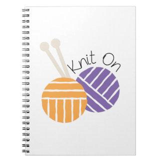Yarn_Knit encendido Cuadernos