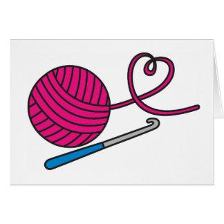 Yarn Love - Crochet Card