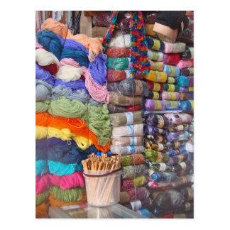 Yarn Shop Post Card
