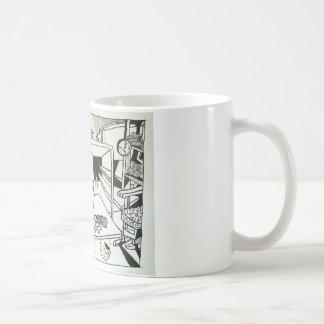 Yarn Store Abstract by Piliero Coffee Mug