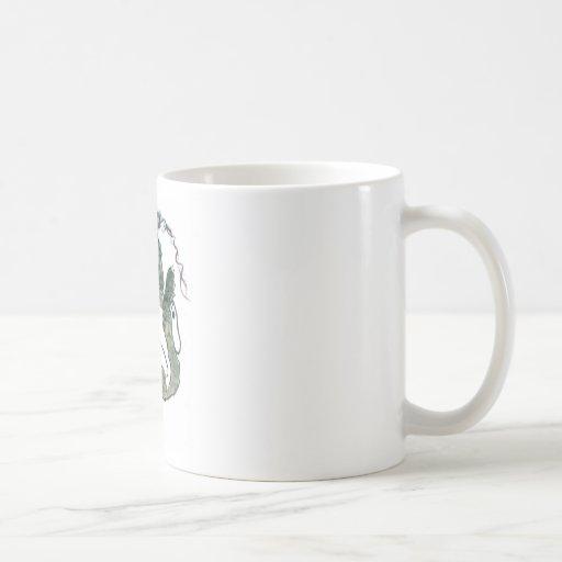 Yarn Tangle for Gray Tiger Kitten Coffee Mug