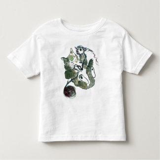 Yarn Tangle for Gray Tiger Kitten Toddler T-shirt