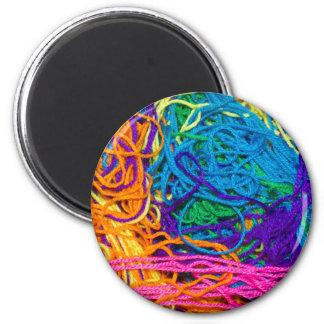 Yarn Tangles Magnet