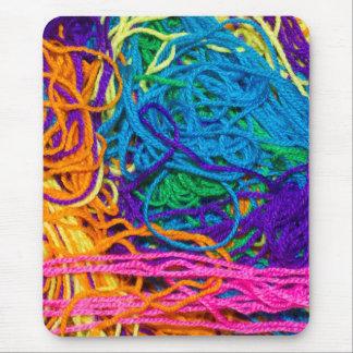 Yarn Tangles Mouse Pad