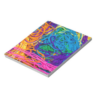 Yarn Tangles Notepad