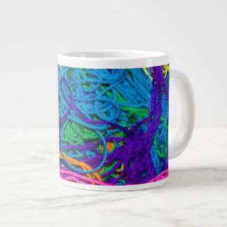 Yarn Tangles 20 Oz Large Ceramic Coffee Mug