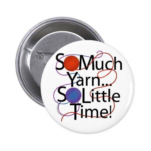 Yarn Time 2 Inch Round Button