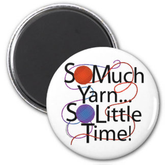 Yarn Time 2 Inch Round Magnet