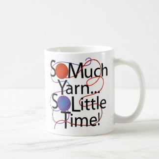 Yarn Time Classic White Coffee Mug