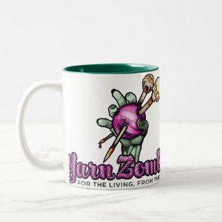 Yarn Zombie Logo Mug